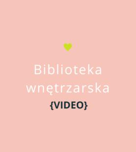 Biblioteka wnętrzarska {video}